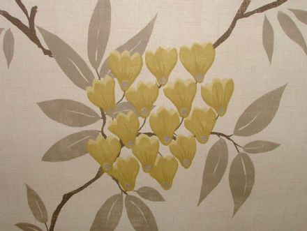 Exc Ashley Wilde MLISS Mimosa FLORAL Curtain/Upholstery/Soft Furnishing Fabric